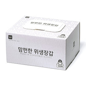비닐장갑/ 맘펀 뽑아쓰는양면엠보싱 위생장갑 (500매)
