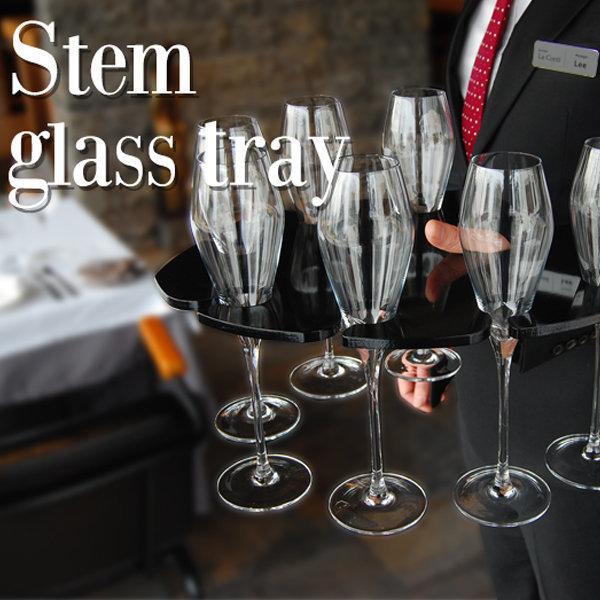 와인잔 서빙 트레이 stem glass tray 걸이 오프너 상품이미지