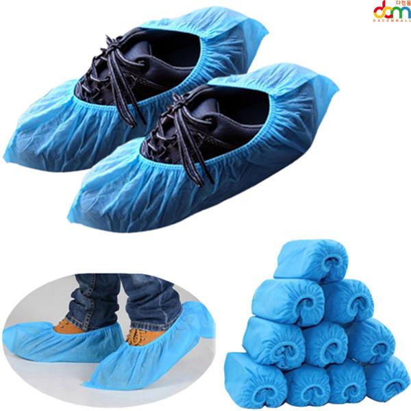 부직포 일회용 덧신 비닐 신발 슈즈커버 논슬립 커버 상품이미지