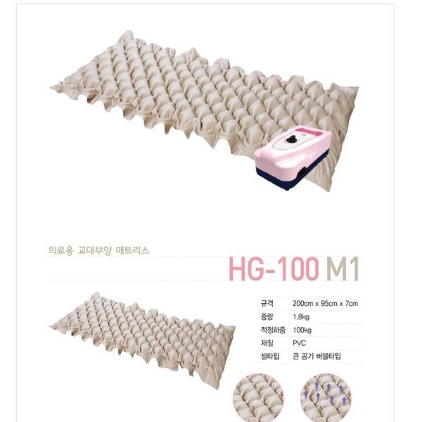 국산 의료용 매트리스 욕창방지 에어매트 HG-100 M1 상품이미지