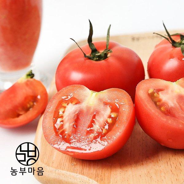 (농부마음) 탱글탱글 완숙 찰 토마토 5kg 3번(중과) 상품이미지