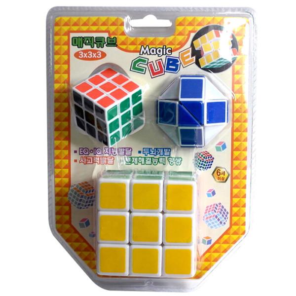 사각큐브세트 큐브 창의블럭 퍼즐놀이 장난감 엑스트라 상품이미지