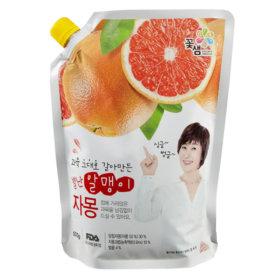 (1+1)꽃샘_별난알맹이자몽_500G