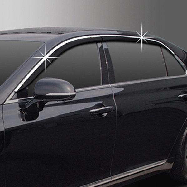 제네시스 EQ900/G90 블랙다이아몬드 도어바이저/투톤 상품이미지