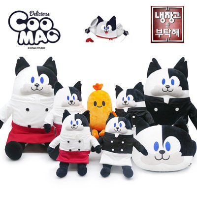 """COOMAO doll/""""Please Take Care of My Refrigerator""""/back/cushion/cat/doll"""
