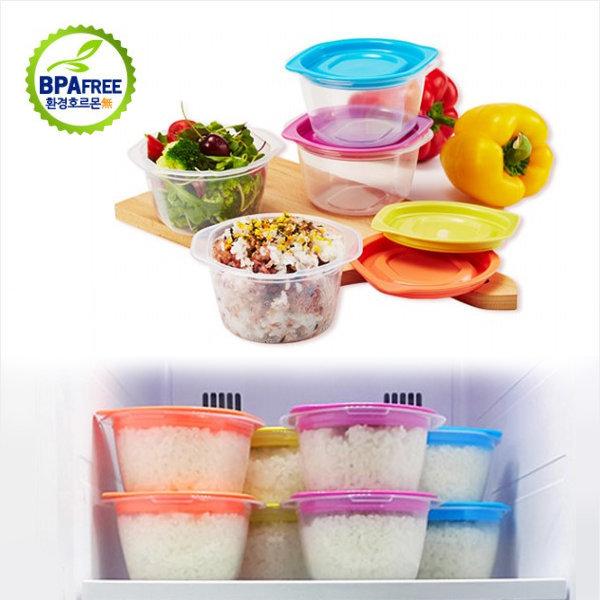 씨밀렉스 쿡밥세트 전자렌지용기 냉동밥보관용기 그릇 상품이미지
