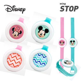 [wing STOP] mosquito repellent air freshener / character design / Disney / Wing Band /