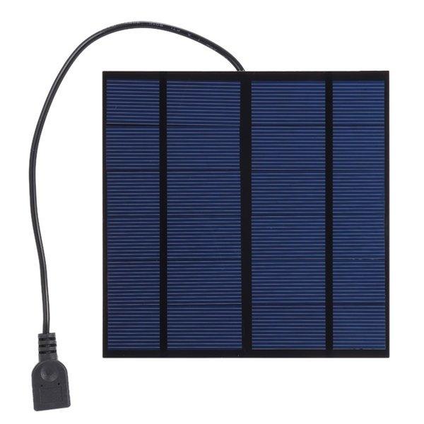 (해외) 태양광충전기 5V 3W 태양광패널 태양전지 보조 상품이미지