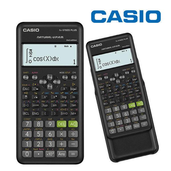 FX-570ES PLUS 카시오 정품 공학용계산기 분수표시 상품이미지
