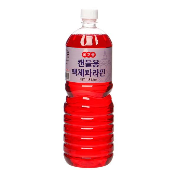 파라핀 액체양초(빨강) 신라의 불꽃 1.8리터 상품이미지