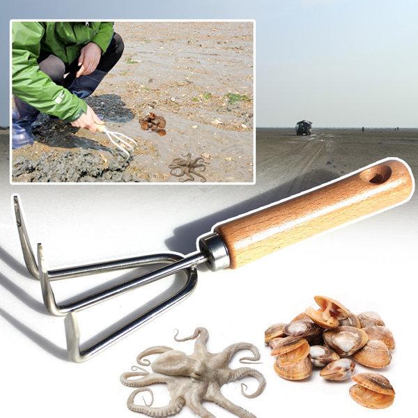 플래닛 갈구리 조개꼬시개 갈퀴 갯벌 삽 가프 해루질 상품이미지