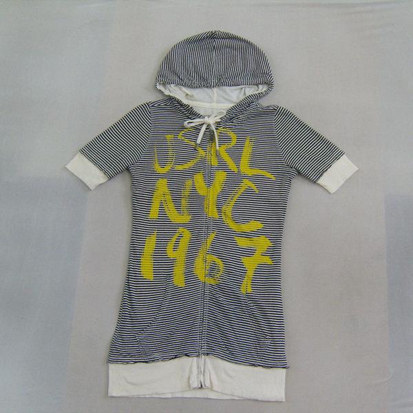 폴로 여성 XS 빈티지 후드 집업 반팔 롱 자켓 점퍼 상품이미지