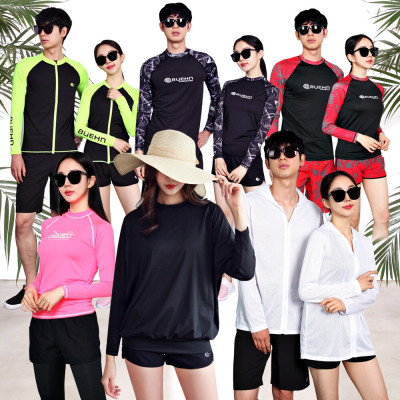 Rash guard set Big size ~3XL/Beachwear/Swimsuit/BUEHN