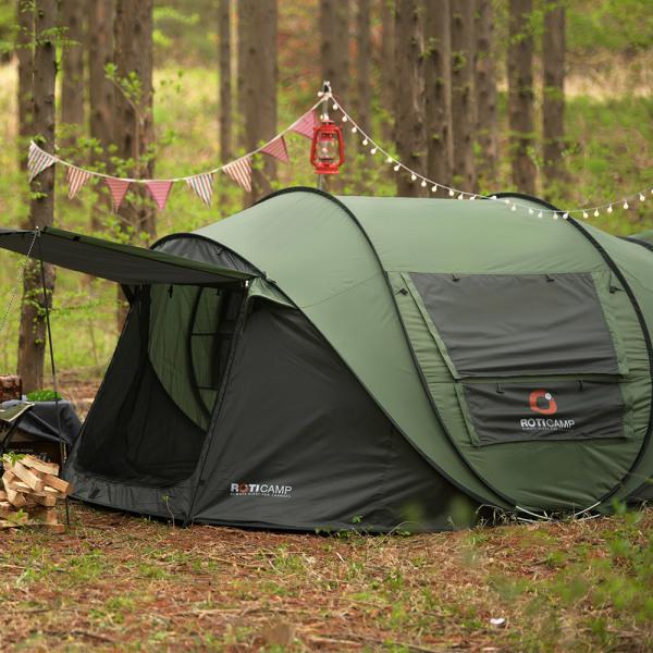 원터치 그늘막 모비딕 팝업 텐트 6인용 캠핑 용품 상품이미지
