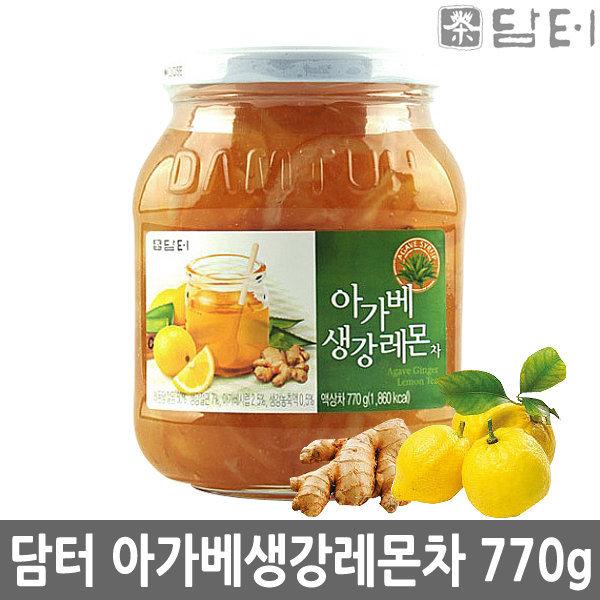 담터 아가베 생강 레몬차 770g 상품이미지
