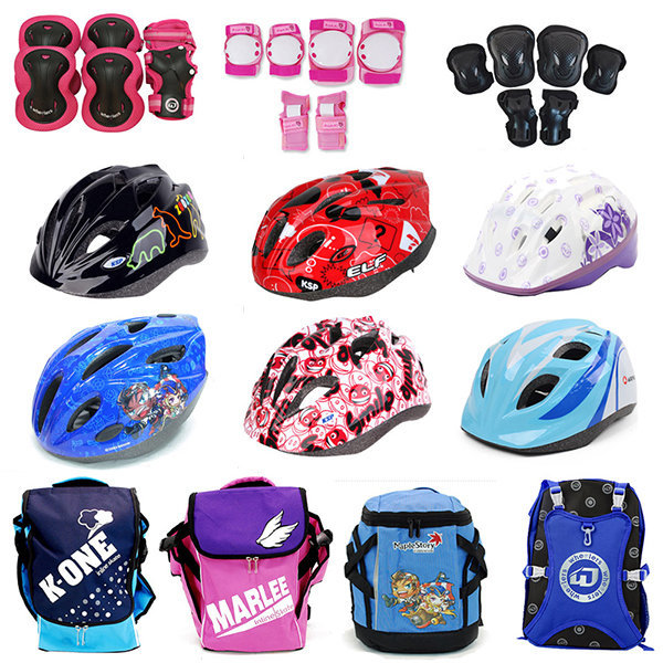 아동용 보호대 모음/헬멧/가방/인라인스케이트/자전거 상품이미지