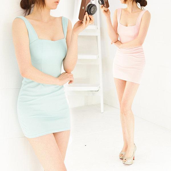 섹시 원피스 미니 드레스 클럽 홀복 D681 수애 상품이미지