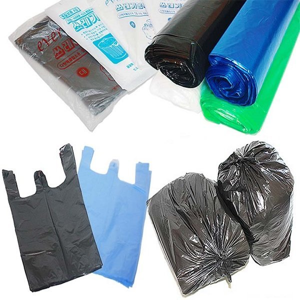 비닐봉투 재활용 쓰레기 분리수거 검정 대형비닐 봉지 상품이미지