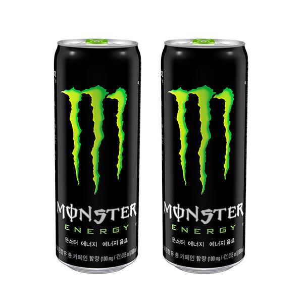 (현대Hmall) 코카콜라  몬스터 에너지 그린 355ml x  24캔 상품이미지