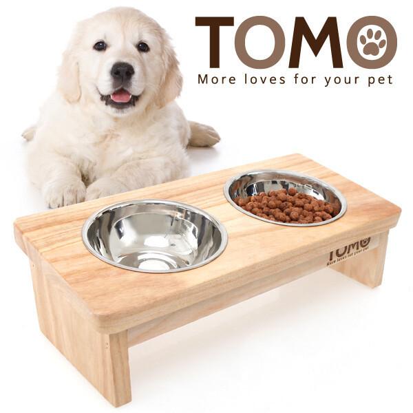 토모 원목 애견식탁세트(2구) 상품이미지