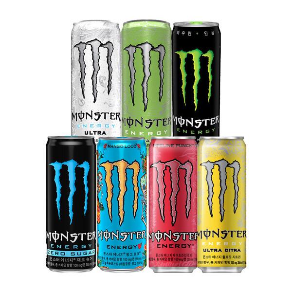 (현대Hmall) 코카콜라  몬스터 에너지 355ml x  24캔 /울트라/시트라/그린/파이프라인 상품이미지