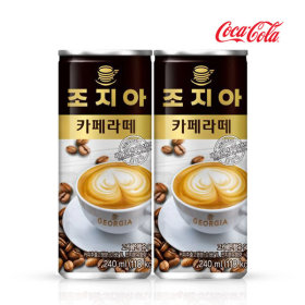 조지아 카페라떼 240ml x30캔/커피