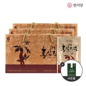 6년근 고려홍삼진액 50ml 30포 x3박스 홍삼 선물세트