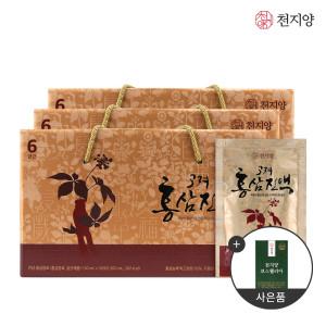 [천지양]6년근 고려홍삼진액 50ml 30포 x3박스 홍삼 선물세트