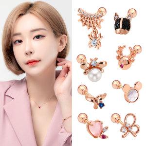 골드팡 14k/18k BEST 피어싱 귀걸이 컬렉션:당일발송: