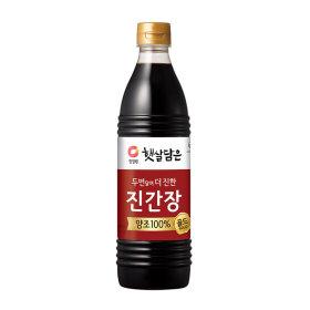 대상_청정원양조진간장진한맛플러스_840ML