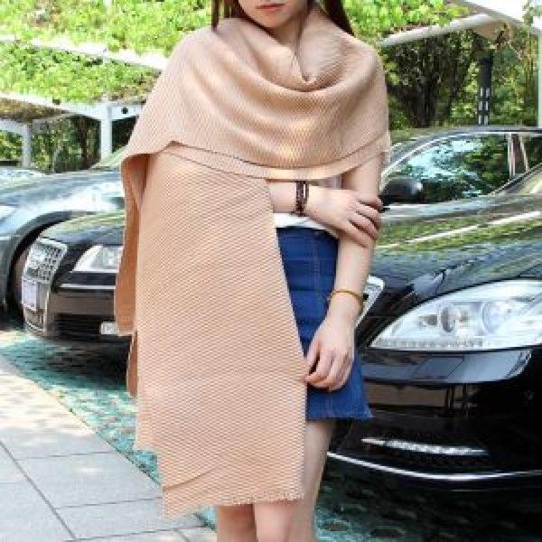 갈색 여성용 숄(190x66cm) (여성용) 상품이미지