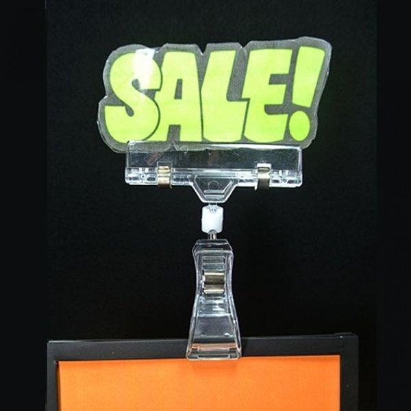 (집게) 클립 메모꽂이 꽂이 고정클립 집게클립 마트용 상품이미지