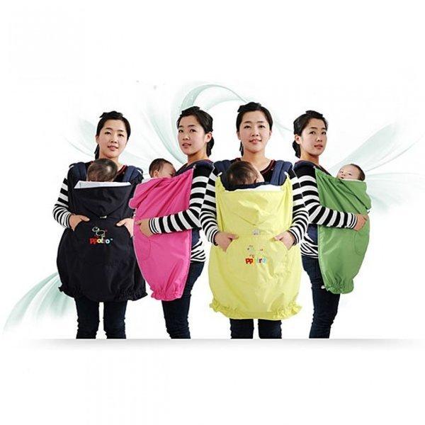 봉봉망토 4color 아기띠망토 포대기망토 바람막이망토 상품이미지