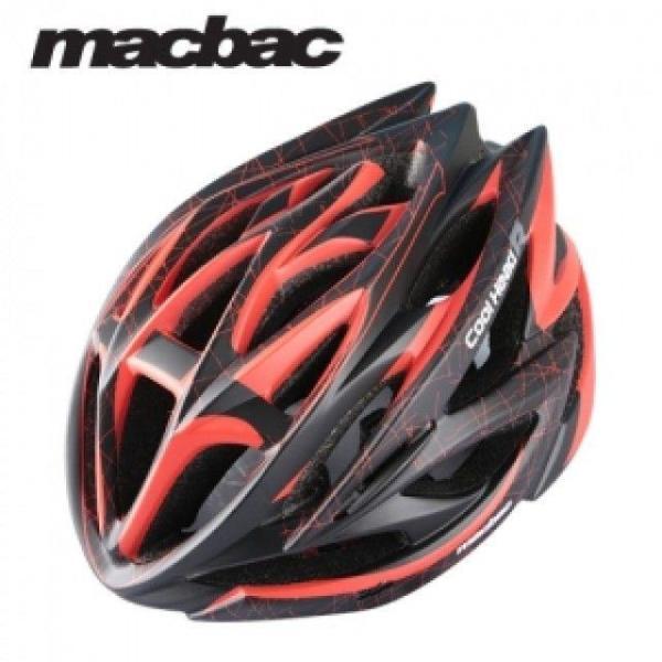 쿨헤드R XL 무광(블랙-레드) 자전거 헬멧 상품이미지