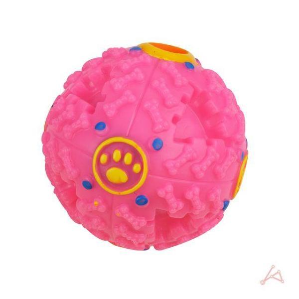 애견 장난감 스넥볼 중 핑크 상품이미지