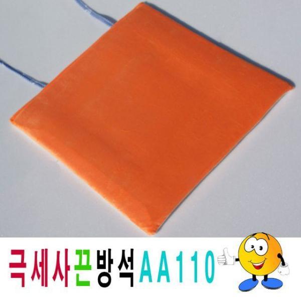 단면극세사끈방석AA110극세사끈방석끈방석사무실학 상품이미지