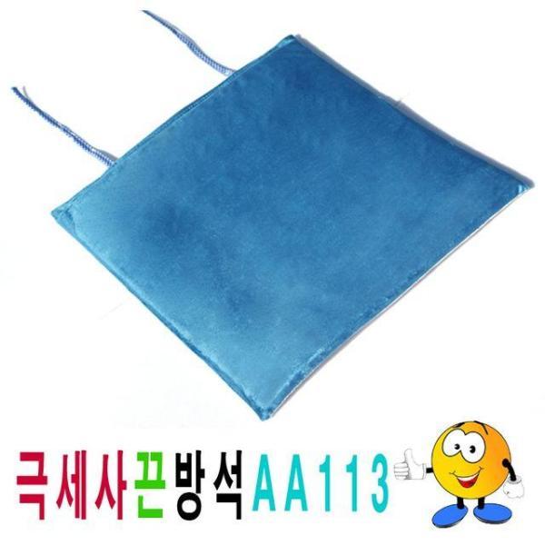 단면극세사끈방석AA113극세사끈방석끈방석사무실학 상품이미지