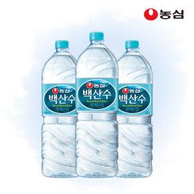 Nongshim Baek san soo 2L x 12 bottles / water