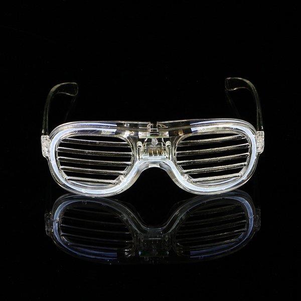 LED 야광 쉐이드 안경(투명) 상품이미지