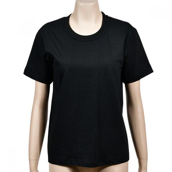 순면 기본 라운드 학생 반팔 티셔츠 (은하수)(면T-학 상품이미지