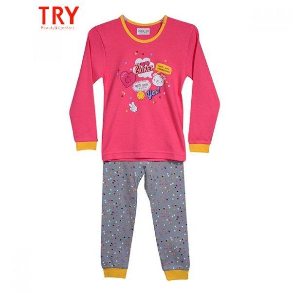 유러피안 스타일의 세련된 패턴 아동내의 (트라이)(키 상품이미지