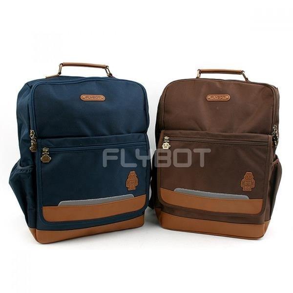FL0125 플라이봇 라인클래식백팩(XL-브라운) 상품이미지