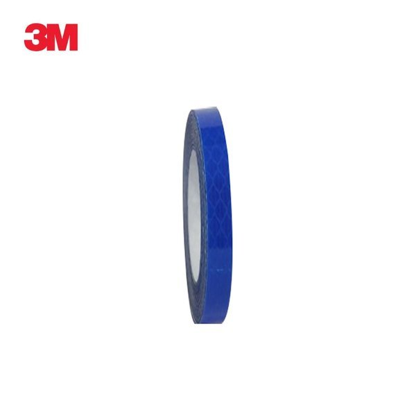 3M 프리즘형 고휘도 반사테이프 10mm x 2.5M 청색 상품이미지