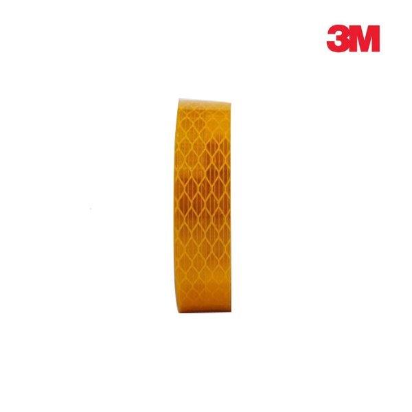 3M 프리즘형 고휘도 반사테이프 20mm x 2.5M 황색 상품이미지