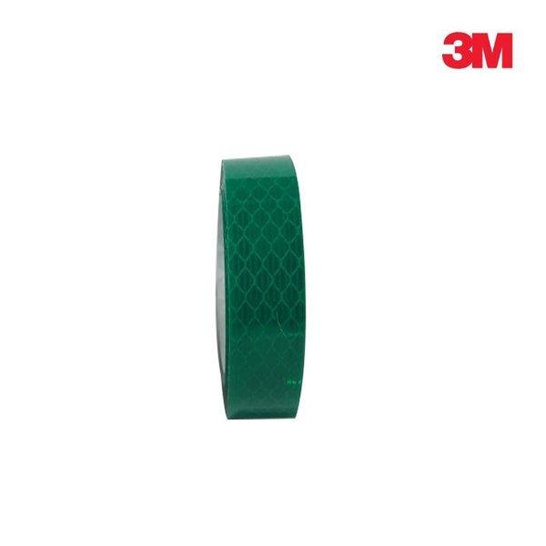 3M 프리즘형 고휘도 반사테이프 20mm x 2.5M 녹색 상품이미지