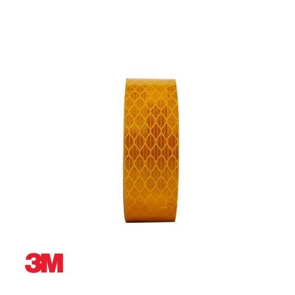 3M 프리즘형 고휘도 반사테이프 24mm x 2.5M 황색 상품이미지