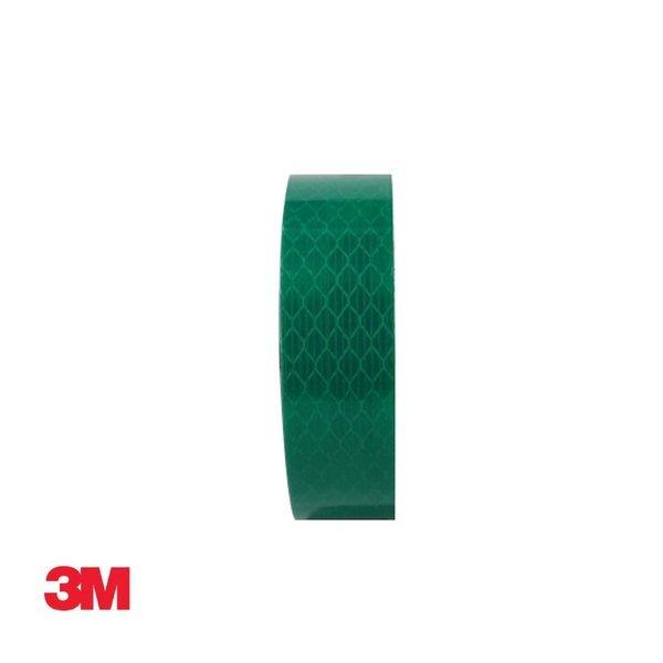 3M 프리즘형 고휘도 반사테이프 24mm x 2.5M 녹색 상품이미지