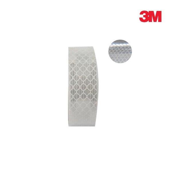 3M 초 고휘도 반사테이프 DG3 4090 백색 20mm x 2.5M 상품이미지