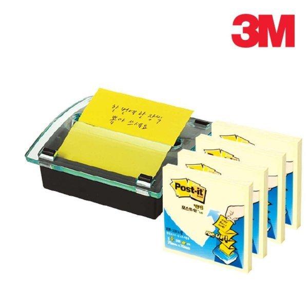 3M 포스트잇 팝업 크리스탈 디스펜서 DS-330 상품이미지