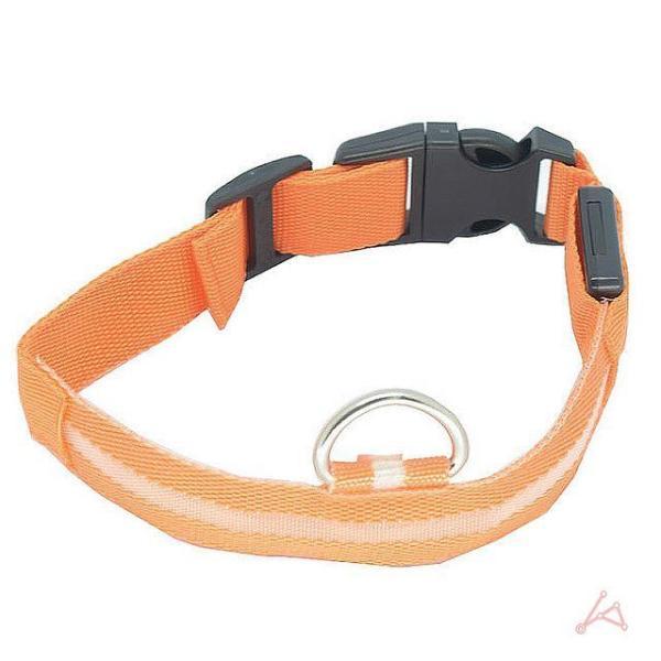 LED 애견목줄 오렌지 상품이미지